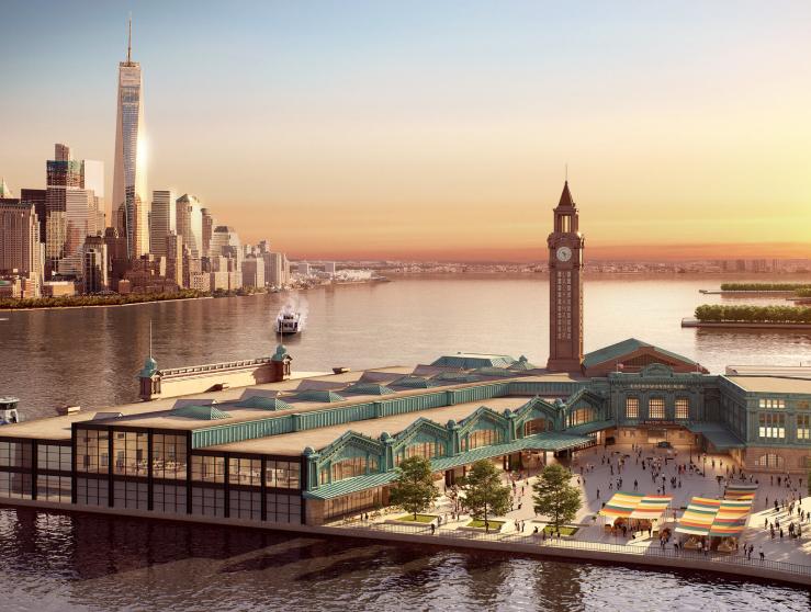 Hoboken Terminal and Rail Yard